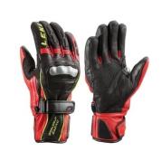 Rękawice Leki Worldcup Racing GS czarne czerwone