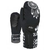 RĘKAWICE LEVEL BLISS EMERALD MITT GTX BLACK-WHITE PARA