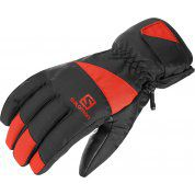 RĘKAWICE SALOMON FORCE M BLACK|FIERY RED 404211