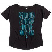 T-shirt DC Terrel czarny
