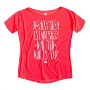 T-shirt DC Terrel czerwony