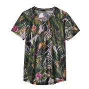 T-SHIRT FEMI PLEASURE BALI JUNGLE TYŁ