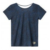 T-SHIRT FEMI STORIES AMBA ZEBRA NAVY