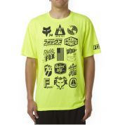 T-SHIRT FOXHEAD MTN DIVISION TECH FLO YELLOW