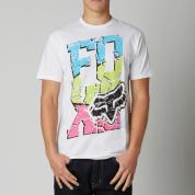 T-shirt Foxhead Tiltonic SS Biały przód