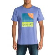 T-SHIRT QUIKSILVER BASIC FIOLETOWY 2