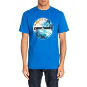 T-SHIRT QUIKSILVER CLASSIC TEE BEING THERE OLIMPIAN BLUE 2