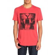 T-SHIRT QUIKSILVER ORGANIC TEE JAVA TIGER BAKED APPLE 2