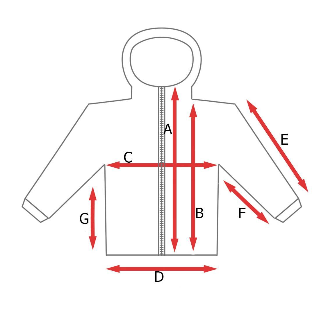 rozmiarówka bluza