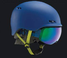 Snowshop - KASK ANON #FLASH# 2019 FIOLETOWY - Anon Simple Fit