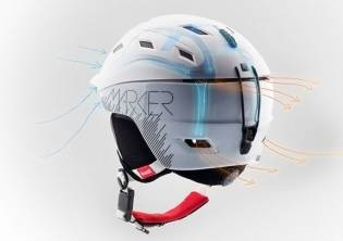Snowshop - KASK MARKER #CONSORT 2.0 WOMEN# 2018 BIAŁY - MARKER Mark AIR CHANNEL